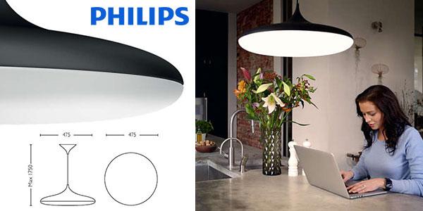 Chollo Lámpara colgante LED Philips Hue White Ambiance Cher con eficiencia energética A+