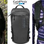 Chollo Mochila deportiva GoPro Seeker compatible con sistemas de hidratación y 5 cámaras de color negro