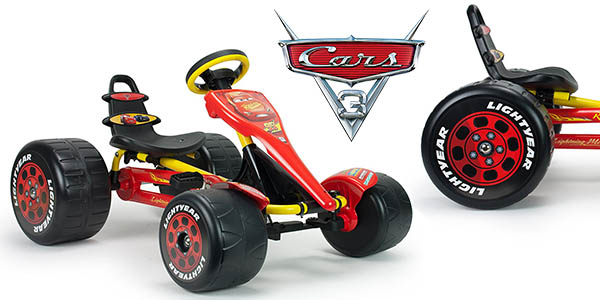 coche con pedales Go Kart Cars 3 barato