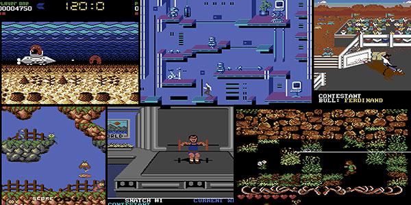 Consola Commodore C64 Mini con 64 juegos preinstalados en oferta
