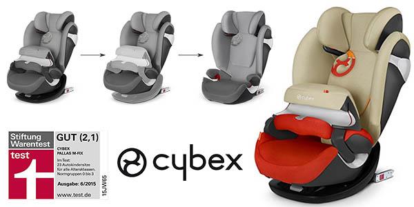 chollazo silla de coche cybex pallas m fix del grupo 1 2 3. Black Bedroom Furniture Sets. Home Design Ideas