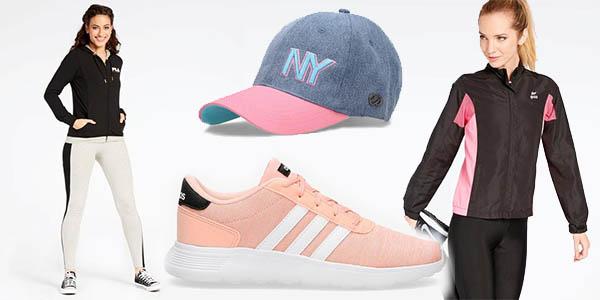 Descuentos en ropa, calzado y completmentos deportivos para mujer en Sprinter