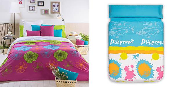 Chollo juego de funda n rdica san carlos con bajera y fundas de almohada para cama de 150 cm por - San carlos ropa de cama ...