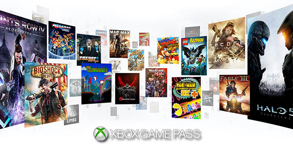 XBox Game Pass con Juegos Xbox One y Xbox 360