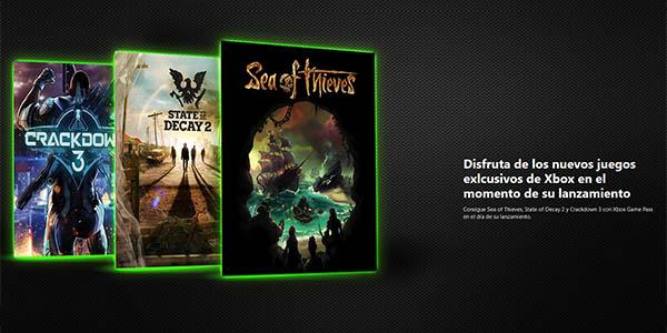 Novedades Xbox One en Xbox Game Pass
