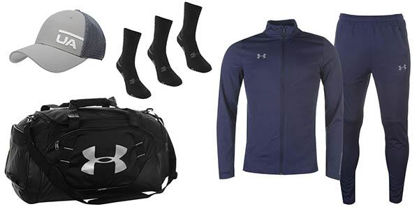 grandes descuentos en ropa de deporte Under Armour en la tienda Sports Direct