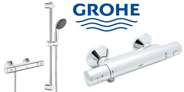 Grohe Precision Start grifería para ducha con termostato y rociador barata