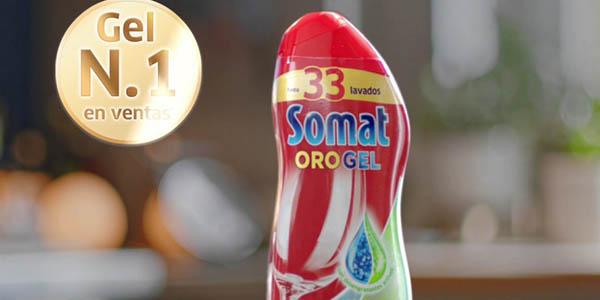 Henkel Somat Oro Gel Vinagre en formato ahorro