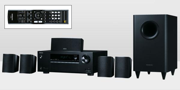 Home Cinema Onkyo de alta calidad con 6 altavoces y conexion Bluetooth
