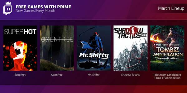 Twitch Prime Regalos Juegos Gratis