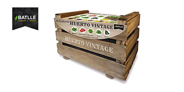 Kit Huerto Vintage de Semillas Batlle para cultivo huerto urbano barato en Amazon
