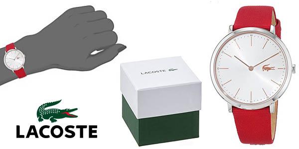 Lacoste Watches Moon 2000998 reloj de pulsera analógico para mujer barato