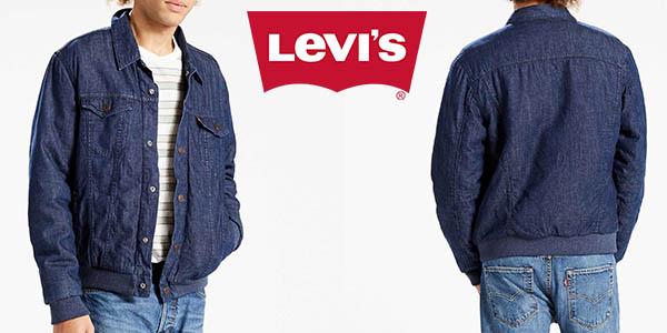Levi's Trucker Varsity Hybrid chaqueta vaquera para hombre barata