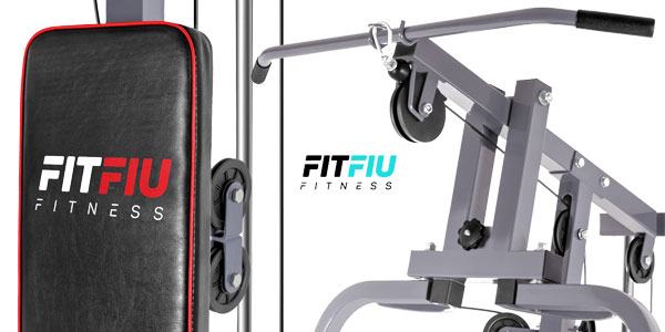 Máquina Fitfiu Fitness MUG40010 con pesas multiejercicio chollo en eBay