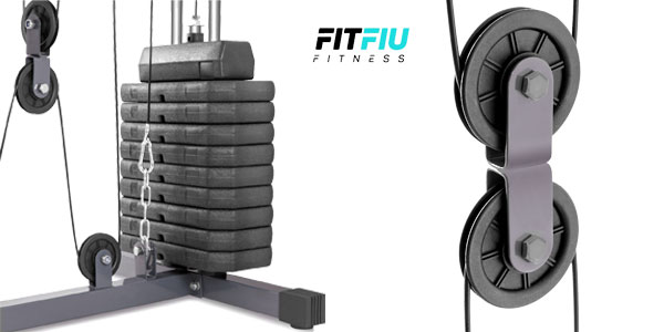 Máquina Fitfiu Fitness MUG40010 con pesas multiejercicio chollazo en eBay