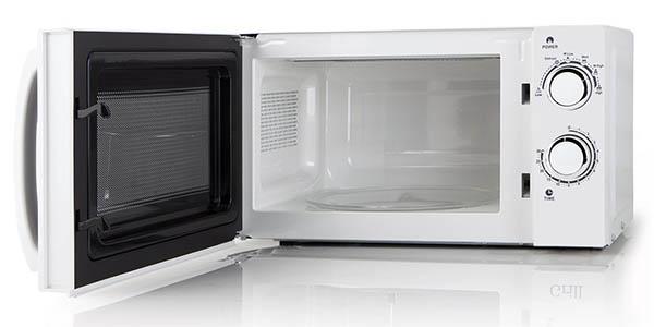 microondas Orbegozo MI 2015 compacto y sencillo con función de descongelar barato