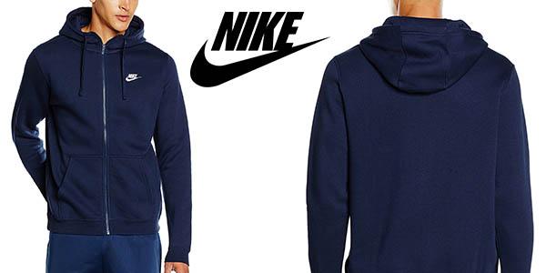 Nike M NSW Hoodie FZ FLC Club sudadera con cremallera para hombre barata