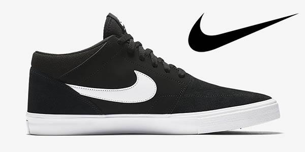 Nike SB Solarsoft Portmore II Mid botines casuales a precio brutal