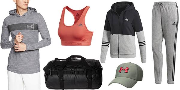 ofertas en ropa deportiva de la nueva colección de Amazon
