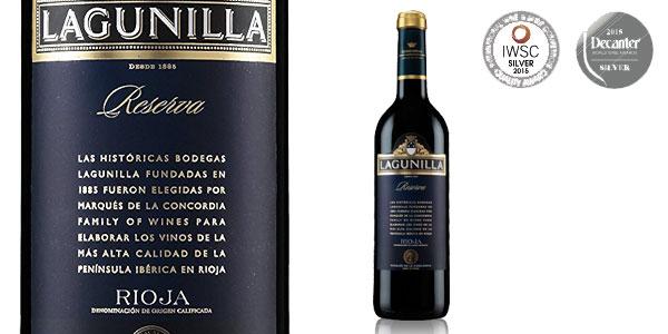 Pack tres botellas Vino Tinto Reserva Lagunilla 750 ml chollo en Amazon