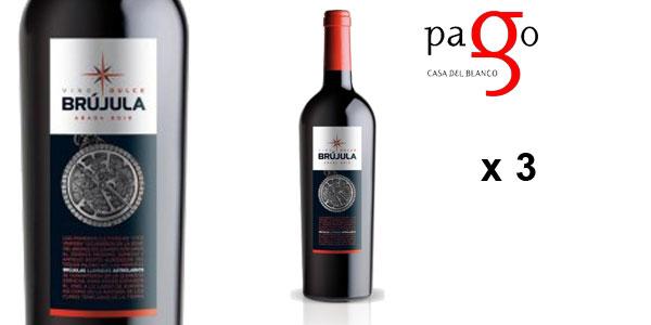 Pack 3 botellas Brújula Dulce 2010 V.T. Castilla chollo en eBay España
