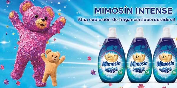 Pack de 6 botellas Mimosin Intense Explosión de Frescor Suavizante Concentrado para 58 lavados chollo en Amazon