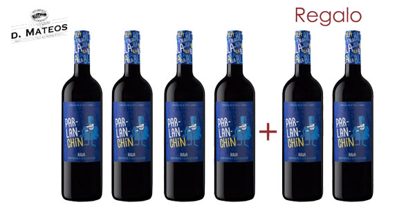 Pack 6 Botellas vino tinto Parlanchín 2016 D.O. Ca. Rioja barato en eBay España