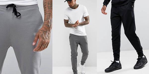 pantalón jogger para hombre Asos con genial relación calidad-precio