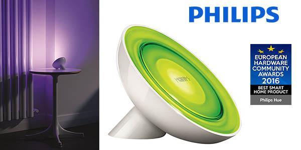 Philips Hue Bloom lámpara con luz de colores de sobremesa barata