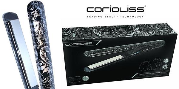 Plancha de pelo Corioliss C3 con placas de titanio pulido en oferta