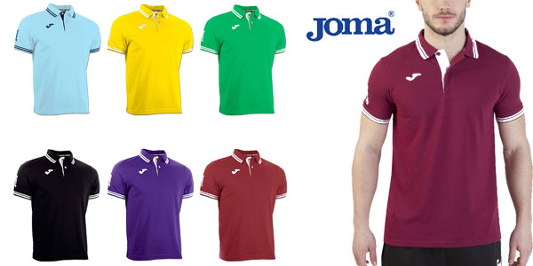 Polos Joma Bali en varios colores para hombre y niño chollazo en eBay