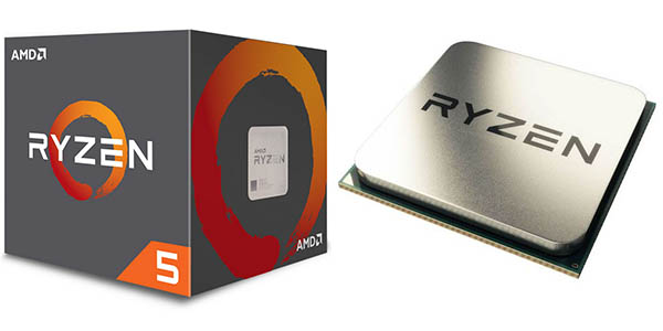 Procesador AMD Ryzen 5 1400 a 3.2GHz