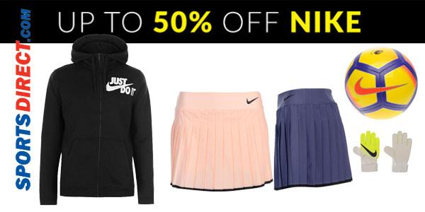 Promoción Hasta -50% en todo Nike en las ofertas semanales de Sportsdirect
