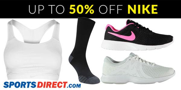 Promoción Hasta -50% en complementos de Nike en las ofertas semanales de Sportsdirect