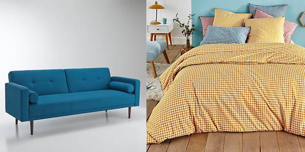 promoción muebles y decoración con cupón descuento en La Redoute