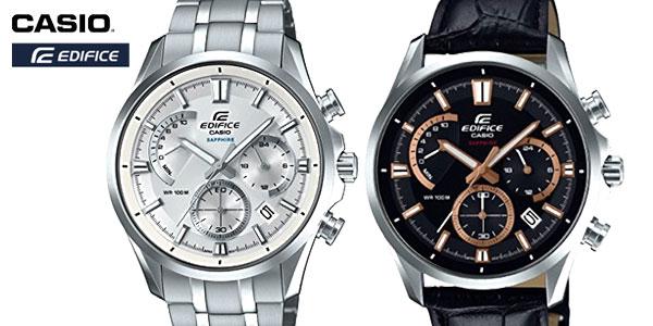 86a1a2d01bf1 Chollo Relojes Casio Edifice para hombre desde sólo 100