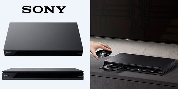 Reproductor Blu-ray Sony UBPX800 4K UHD barato