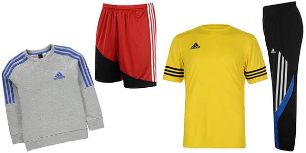 ropa de deporte y entreno para mujer y para hombre de la marca Adidas en oferta