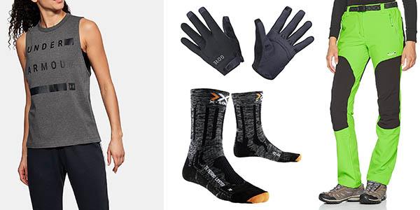 ropa para hombre y mujer de deporte con grandes descuentos en Amazon