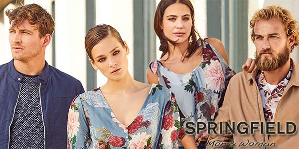 ropa nueva colección verano 2018 Springfield con cupón descuento