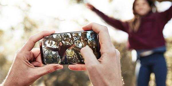 Samsung Galaxy S9+ con cámara dual
