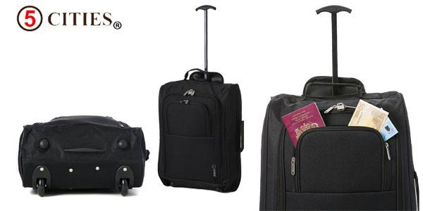 Set de viaje 5 Cities de 2 trolley de mano + 2 bolsas de viaje chollo en Amazon España