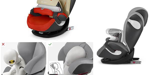 silla de coche Cybex Pallas M-Fix adaptable al crecimiento del bebé con gran relación calidad-precio