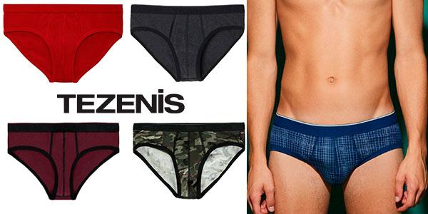 Promoción de slip y boxer Tezenis para hombre