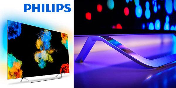 Smart TV OLED Philips 55POS9002/12 de 55 pulgadas UHD en oferta