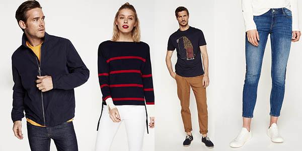 Springfield compras con PayPal de ropa para hombre y mujer rebajada