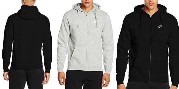 sudadera con capucha para hombre Nike FLC Club chollo