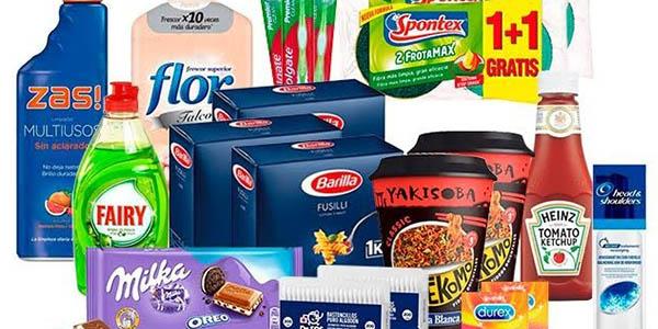 SuperPack Mequedouno con productos de uso diario baratos