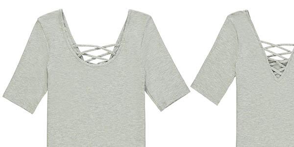 Tezenis camiseta de manga corta en algodón con diseño casual para mujer en oferta