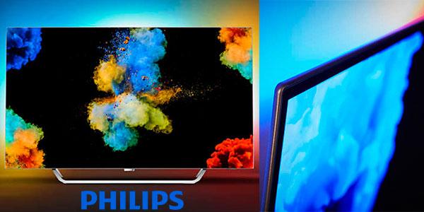 tv oled philips 55pos9002 12 uhd 4k hdr de 55 con ambilight por s lo con env o gratis. Black Bedroom Furniture Sets. Home Design Ideas